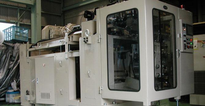 シングルモールドBLS-3E電動吹込成形機