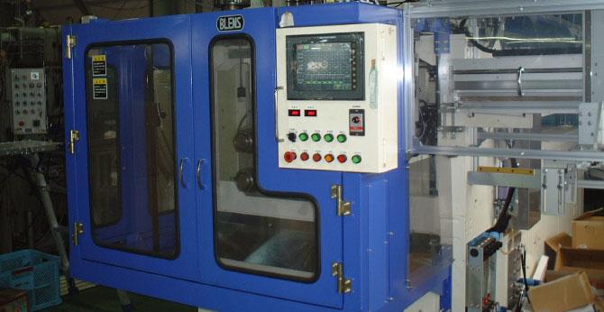 シングルモールドBLS-8E電動吹込成形機